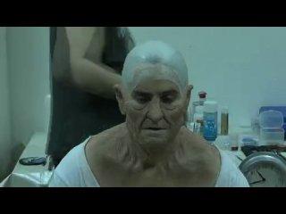 """Джареда Лето гримируют для роли старика-Немо в """"Господин Никто"""""""